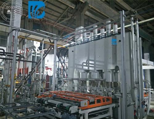 快速热压机生产线